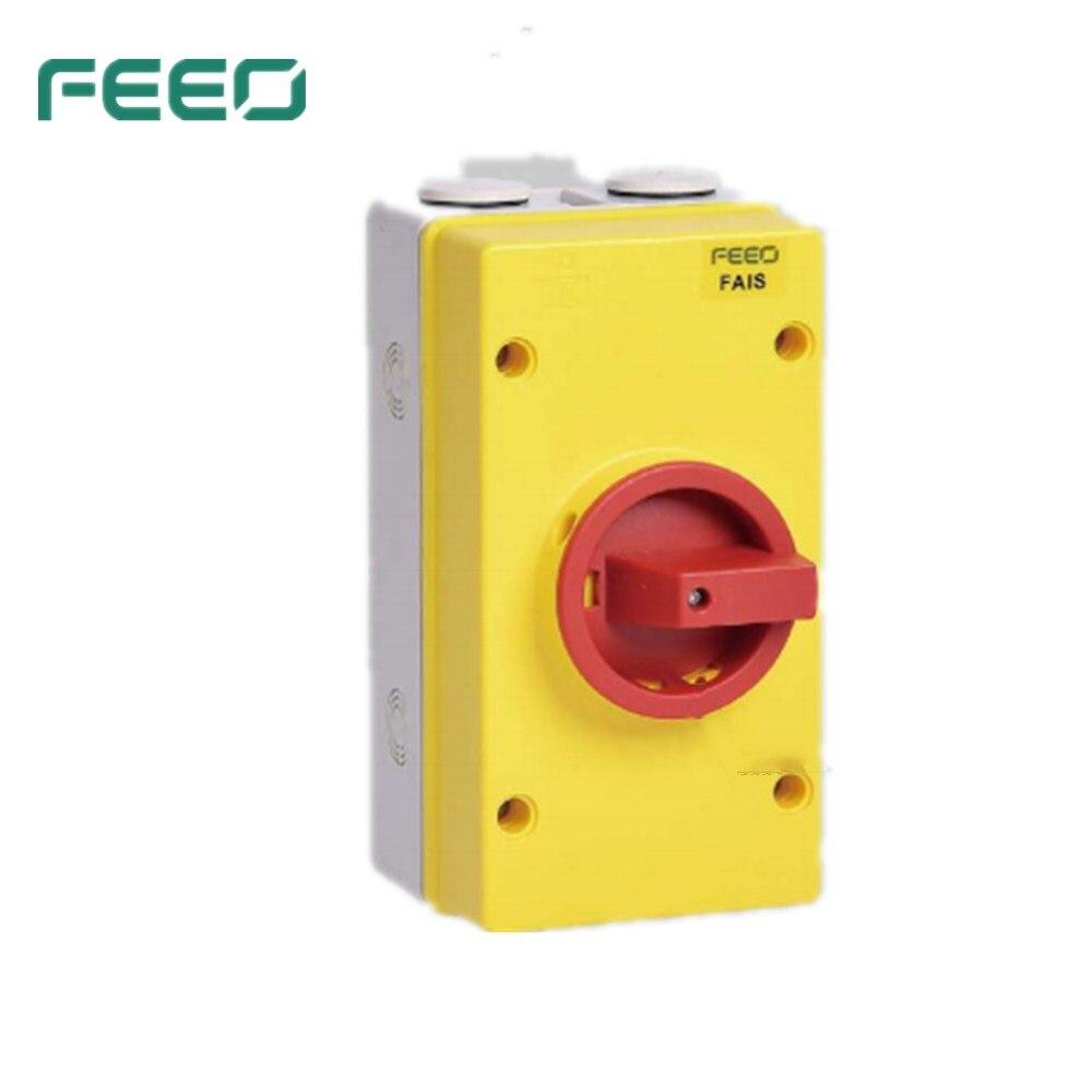 FAIS Series AC isolator switch 3P 63A
