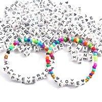 Серебряные украшения в виде букв из 100 шт. игрушки