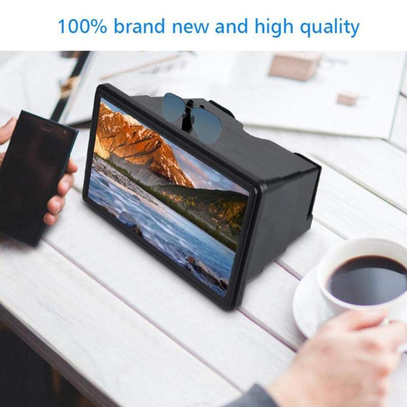 Amplificador de pantalla de teléfono 3D con soporte de amplificación HD