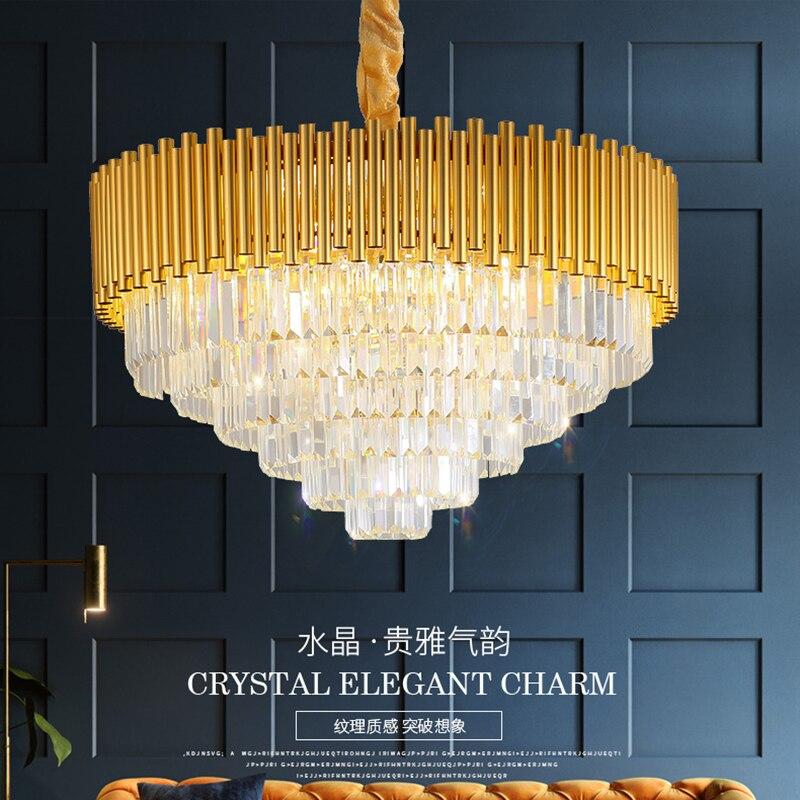 إيطاليا مافيكا الأوروبية المستديرة الحديثة الفاخرة فندق اللوبي مصباح غرفة المعيشة غرفة الطعام Led كريستال الثريا