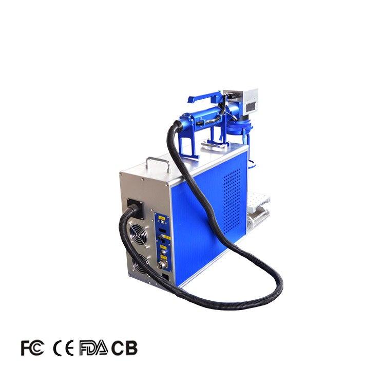 JW hot sale handheld fiber laser marking machine 20w for hard plastic metal engraving sale enlarge