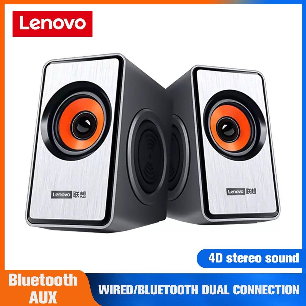 Lenovo-مكبر صوت استريو M550 ، مكبر صوت للكمبيوتر المكتبي ، الكمبيوتر المحمول ، الوسائط المتعددة ، الهاتف الخلوي ، مضخم الصوت ، USB ، مكبر الصوت