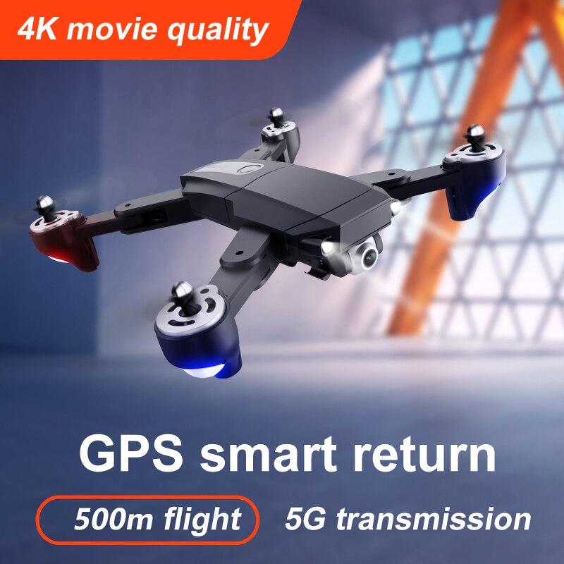 Xkj S604 برو 6k لتحديد المواقع بدون طيار 4K المهنية HD كاميرا 5G واي فاي FPV أجهزة الاستقبال عن بعد الذكية Selfie الطائرات بدون طيار للطي الذراع درون لعبة ...
