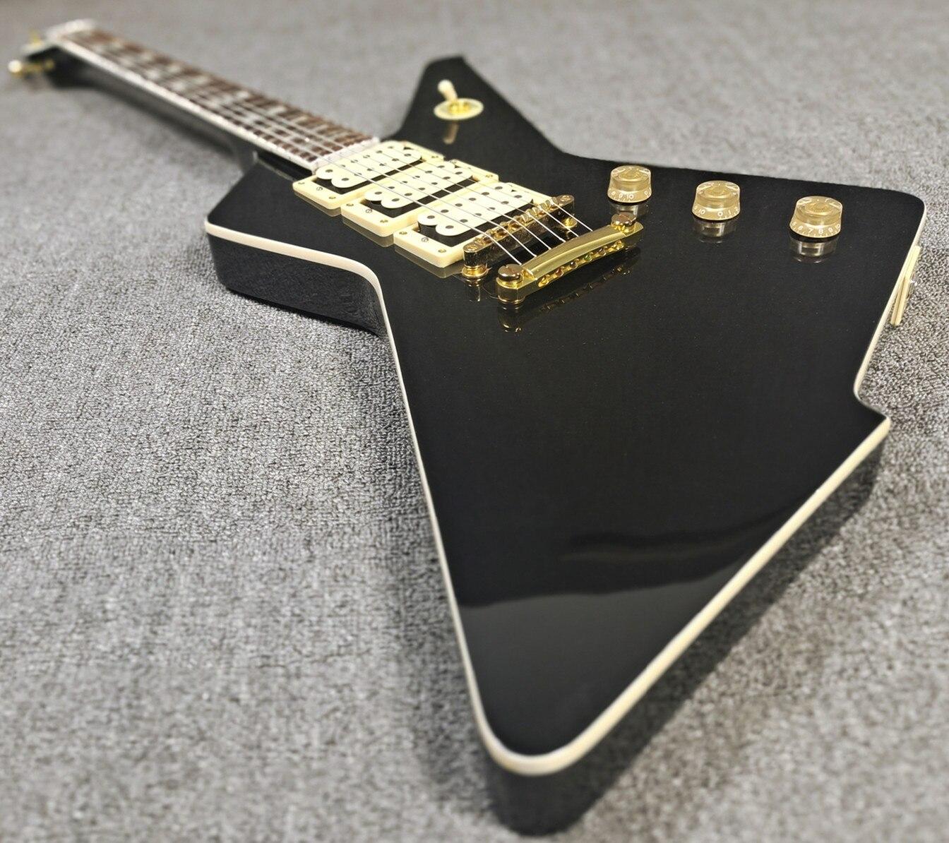 Guitarra Eléctrica con forma irregular 6 cuerdas de estilo personalizado color opcional