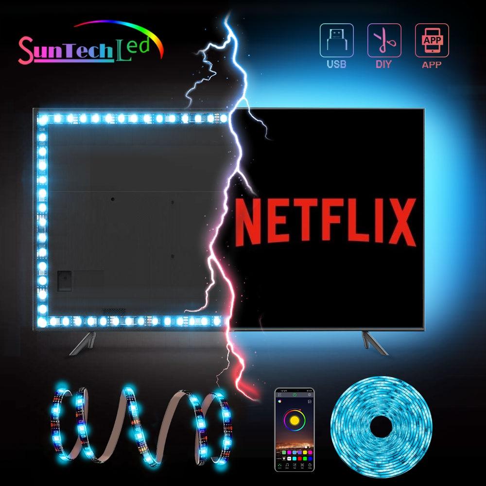 suntech-tira-de-luces-led-de-retroiluminacion-para-tv-cinta-de-luces-led-alimentada-por-usb-smd-5050-bluetooth-con-control-por-aplicacion-decoracion-de-tv