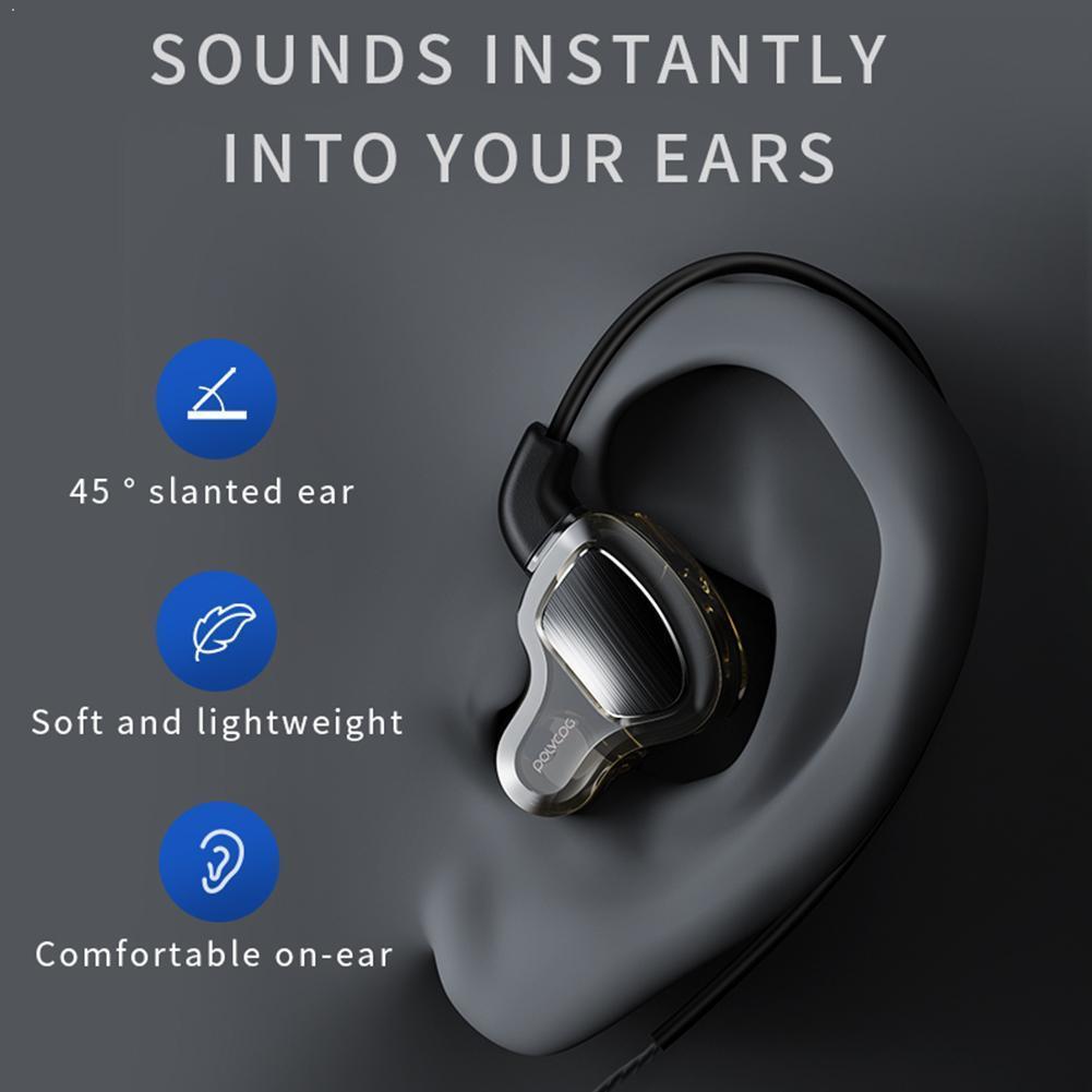 Auriculares con cable 3M, auriculares manos libres de 3,5mm con micrófono para 12s, auriculares estéreo con cancelación de ruido para videojuegos profundos, auriculares metálicos TWS Bass Mus W5W8