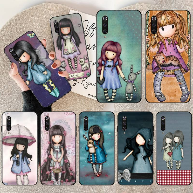 PENGHUWAN Santoro Gorjuss cute cartoon girl Newly Arrived Phone Case for Redmi Note 8 8A 7 6 6A 5 5A 4 4X 4A Go Pro Plus Prime