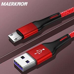 Кабель Micro USB для Xiaomi Redmi Note 5 Pro Android, быстрая зарядка, зарядное устройство, 1 м, 2 м, 3 м