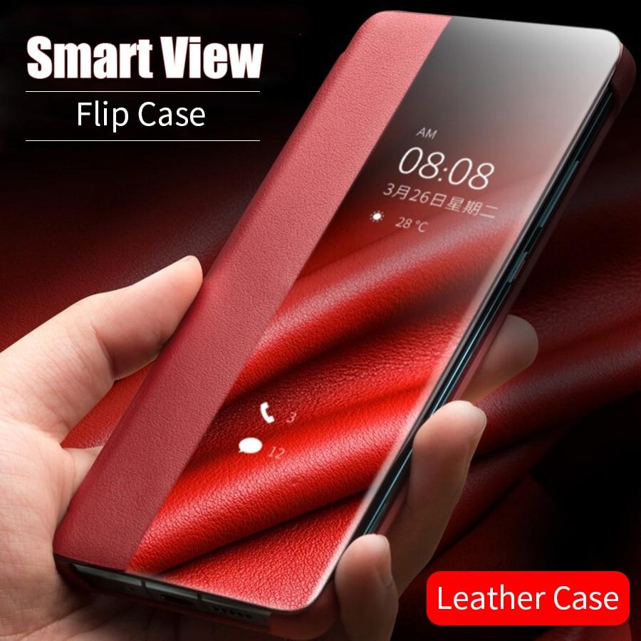 Funda de cuero con tapa inteligente funda de teléfono para Xiaomi A3 9T CC9 Pro CC9E Mi 9 Lite para Redmi Note 8 7 Pro 8T 8A 7A K20 K30