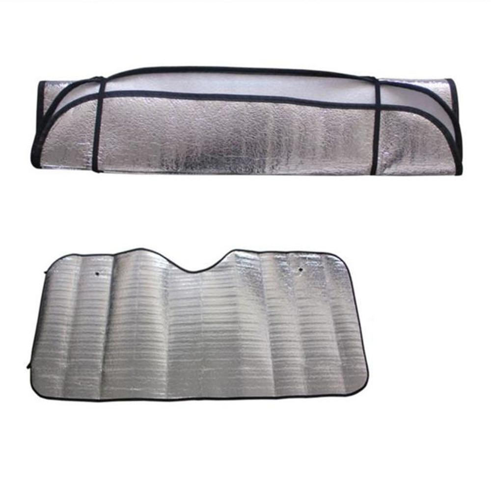 Coche plegable parasol para parabrisas ventana sol sombra para KIA RIO K3 K4 K5 Sportage SORENTO venga Hyundai Avante Sonata