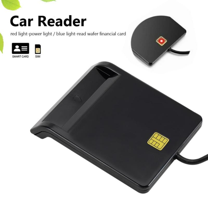 AliExpress - USB 2.0 Smart Card Reader Memory For ID Bank EMV Electronic DNIE DNI Citizen SIM/CAC Card Cloner Connector Adapter PC Computer