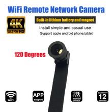 HD 4K Ampio Angolo di WIFI Mini Macchina Fotografica Webcam IP P2P Mini Macchina Fotografica Senza Fili FAI DA TE del Modulo Della Macchina Fotografica di Movimento Attivato DV mini Videocamera