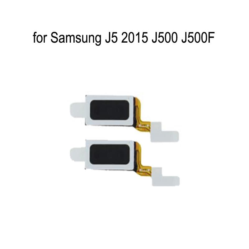 Para Samsung Galaxy J5 2015 J500 J500F J500H J500M J500FN teléfono Original auricular altavoz sonido receptor Flex Cable