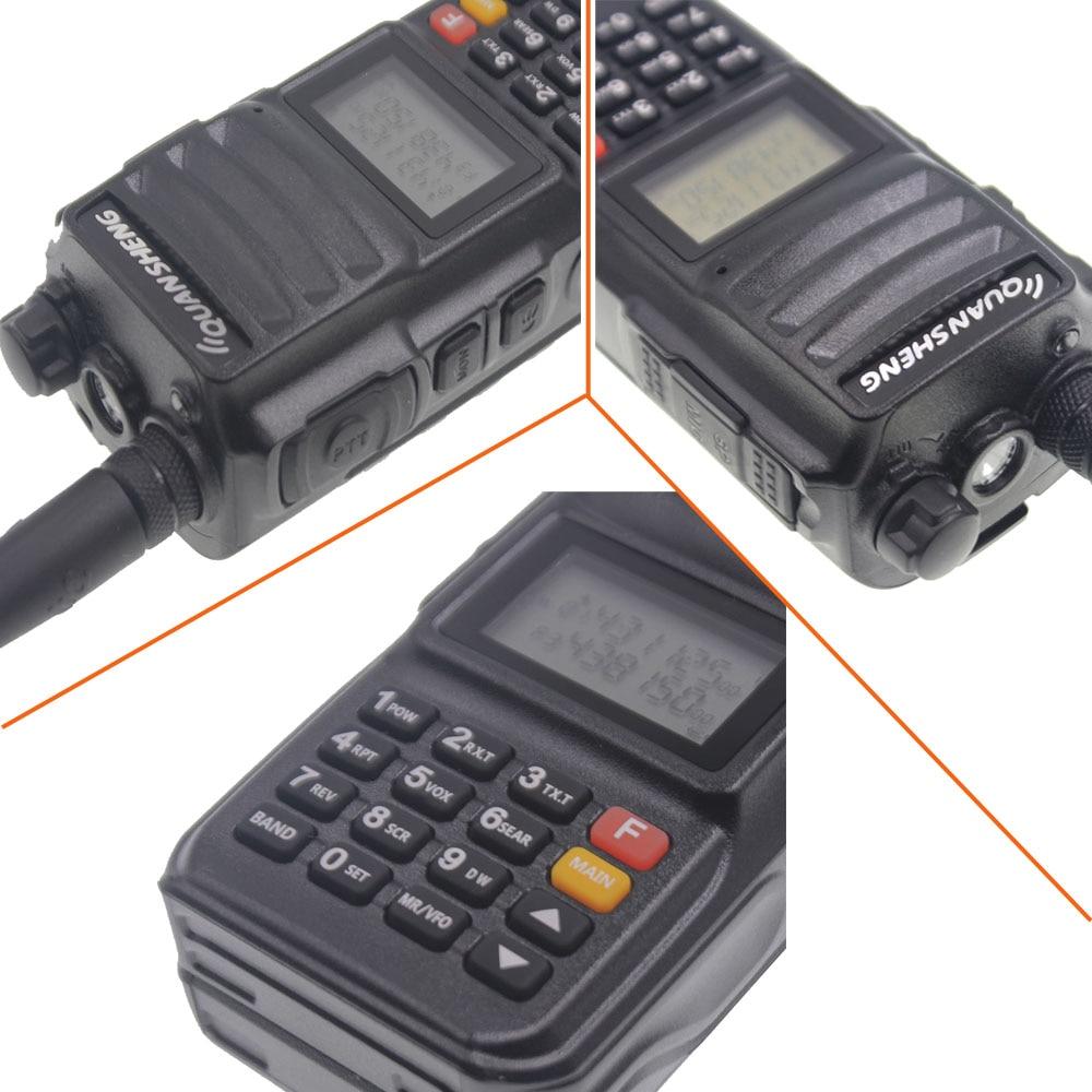 10KM QuanSheng TG-UV2 Plus 10W Long Range Walkie Talkie Dual Band 136-174&400-470mhz 4000mah FM Radio UV2Plus enlarge