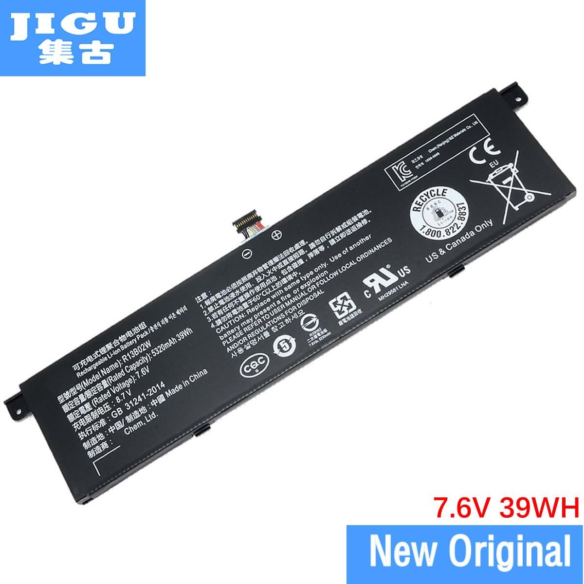 JIGU Original 7.6V New R13B01W R13B02W Laptop Battery For Xiaomi Mi Air 13.3