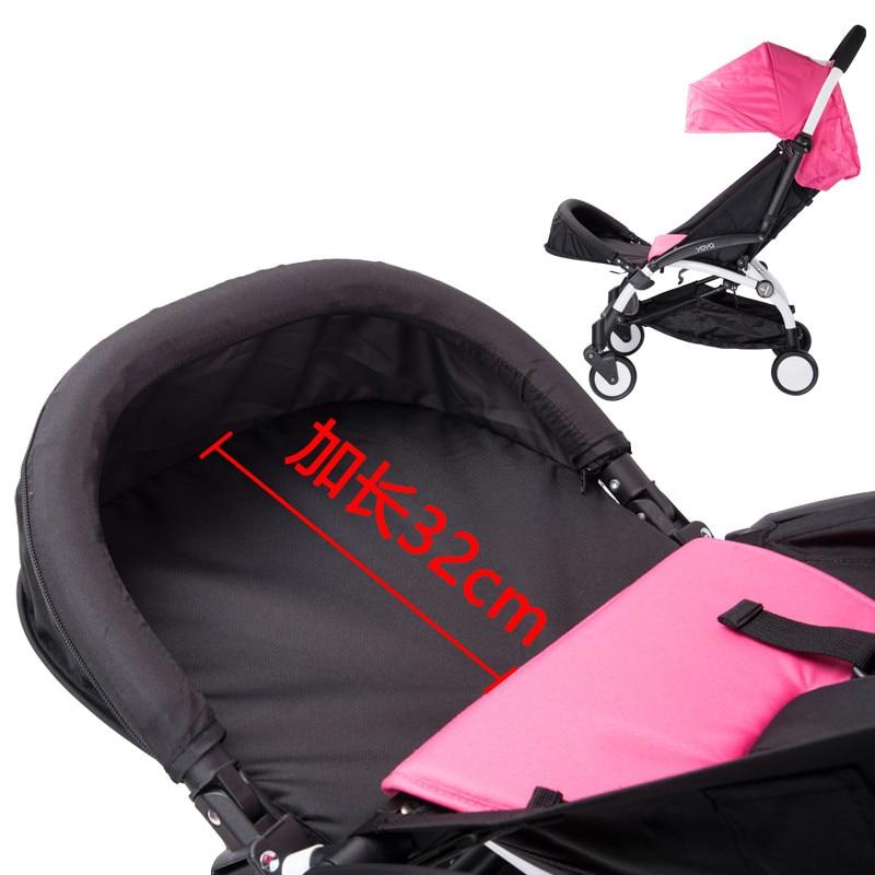 32cm Entire Foot Extension for Baby yoya stroller babyzen YOYO baby throne buggy stroller accessories  feet rest toddler length