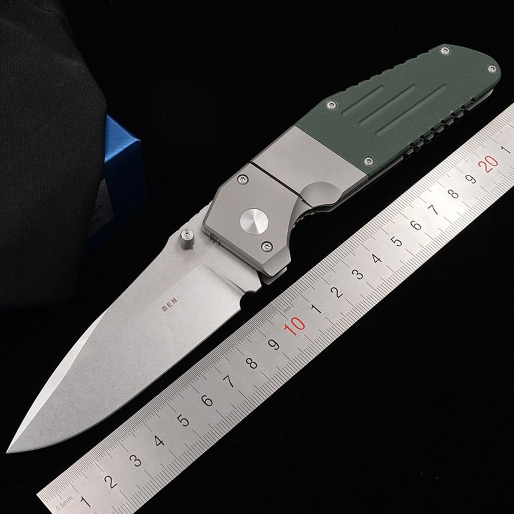 JUFULE предел 7505 титана G10 ручка D2 Mark M390 Лезвие Складной Карманный выживания EDC инструмент Утилита открытый кемпинг охотничий нож