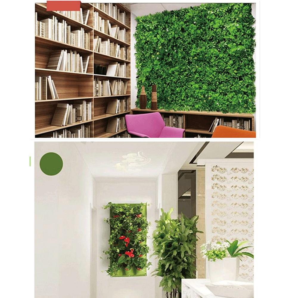Parede pendurado sacos de plantio 36 bolsos verde crescer saco plantador vertical jardim vegetal sala jardim suprimentos para casa