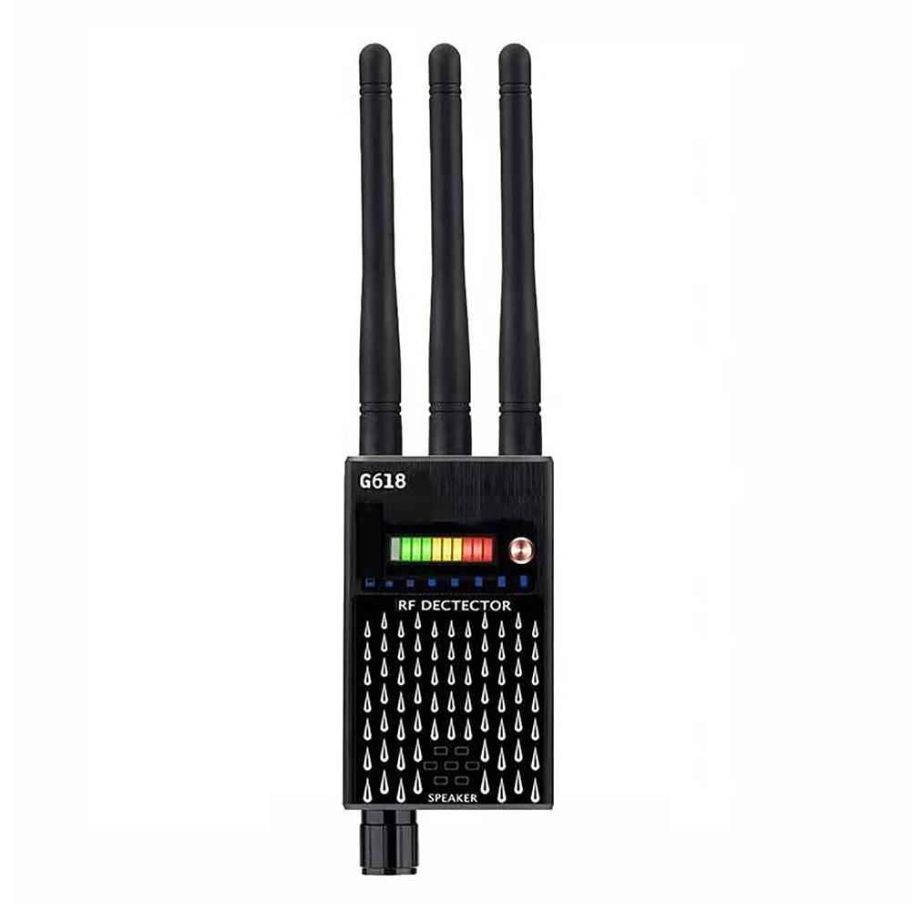 G618 Proker الكاشف 3 هوائي مكافحة التجسس RF CDMA مكتشف إشارة ل GSM علة جهاز تحديد المواقع المقتفي كاميرا خفيّة ذات انترنت لاسلكي التنصت