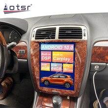 Tesla de pantalla Vertical reproductor Multimedia para Jaguar XK Android Radio GPS para coche de navegación Tesla unidad estéreo para coche de Audio 64GB 4K