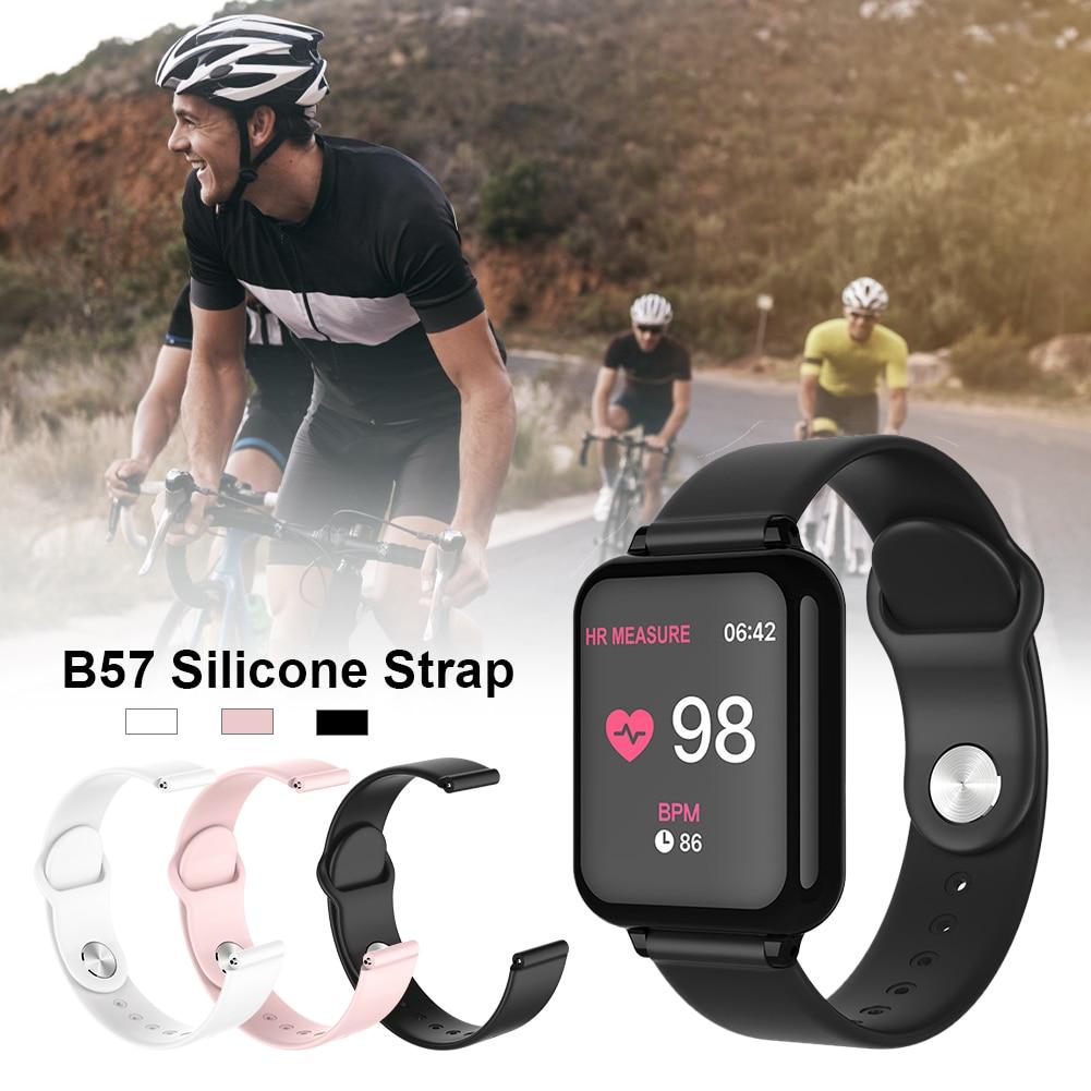 B57 スマートウォッチ交換ストラップ高品質シリコン腕時計ブレスレット 1.8 センチメートル