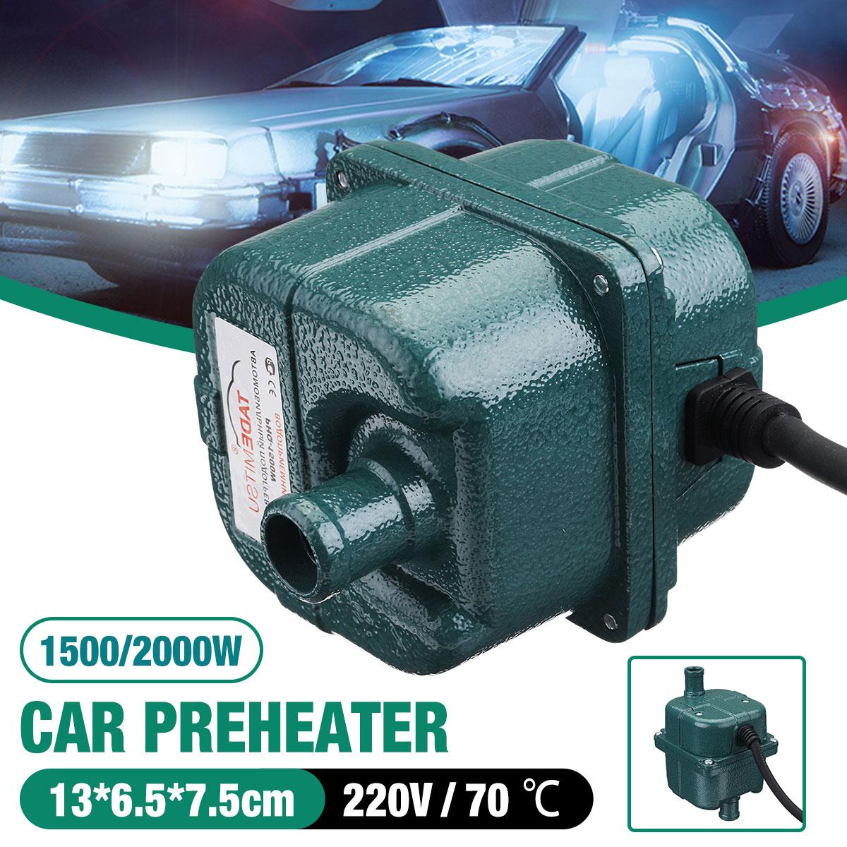 220V 1000 W/1500 W/2000 W bomba de motor de coche Auto tanque de agua enfriado por aire precalentador de motor