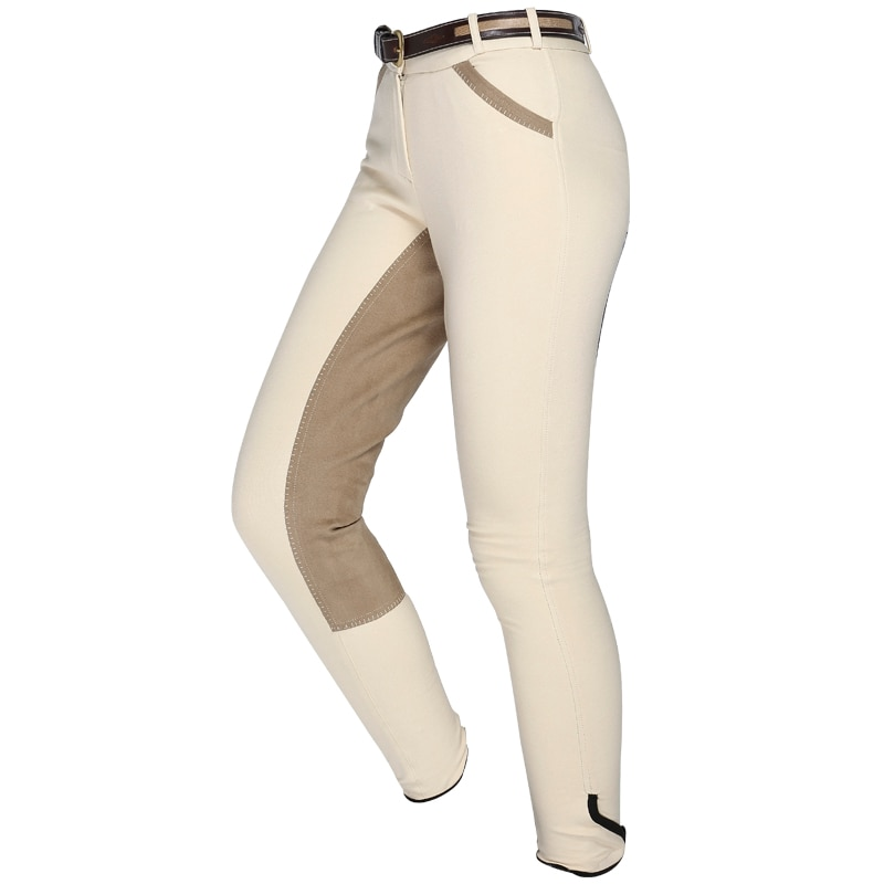 Horse Riding Pants For Women Men Chaps Equestrian Breeches Horseback Horse Rider Pants Training High Strech Trousers Plus Size
