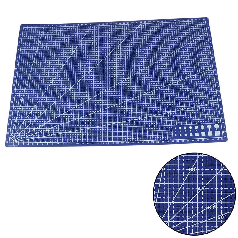 1pcs-vendita-calda-a3-pvc-rettangolare-taglio-zerbino-linea-della-griglia-di-plastica-strumento-di-45cm-x-30cm-a3-di-taglio-piastra