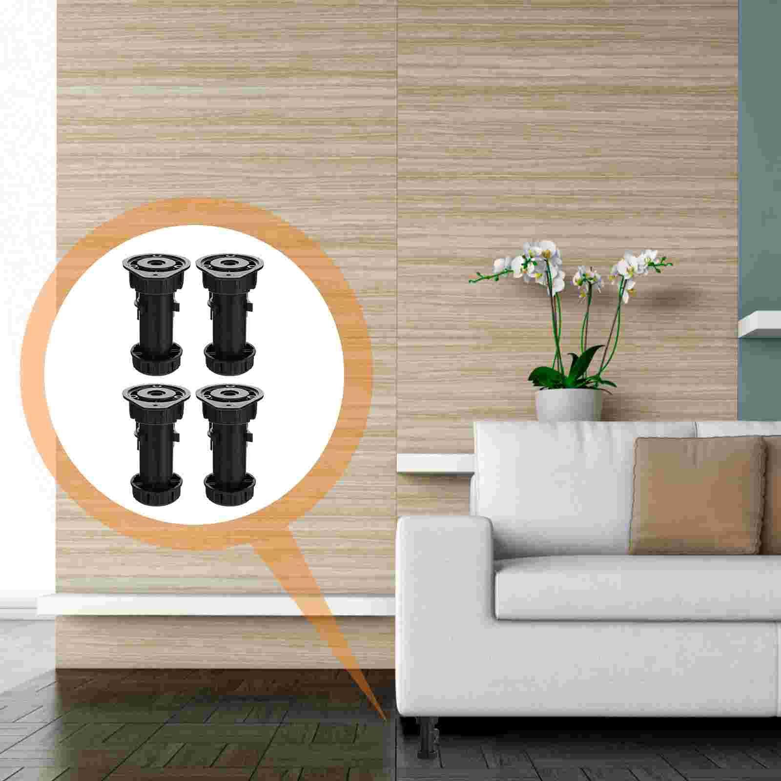 10pcs Multi-purpose Furniture Heightening Feet Pads Table Legs Anti-slip Mat