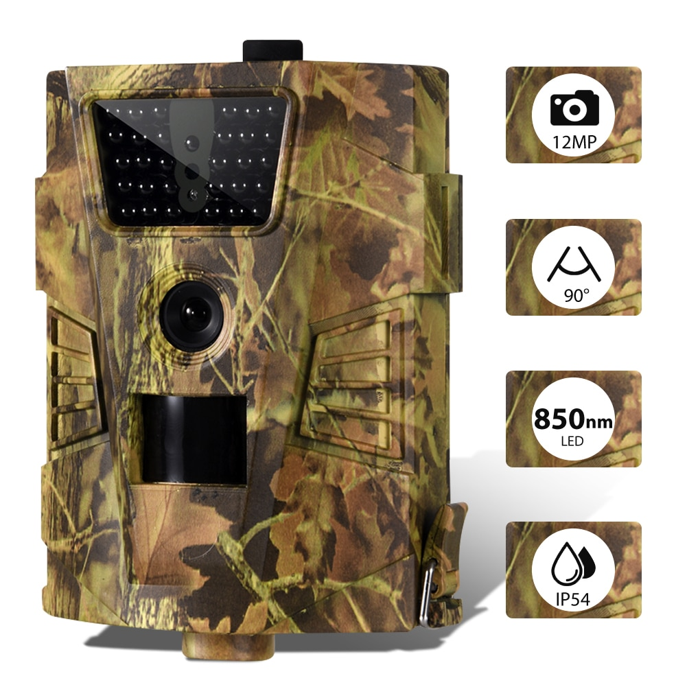 Trail Hunting Camera  Wildcamera Wild Surveillance  Night Version  Wildlife Scouting Cameras Photo Traps Track