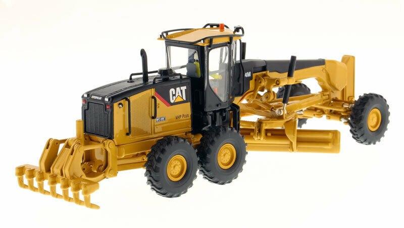 Diecast CAT Model 1/50 CATERPILLARs 14M Motor Grader - High Line Series 85189 kid model toys 1 50 scale engineering vehicle truck car model 140m3 motor grader high line series 85544 diecast model toys