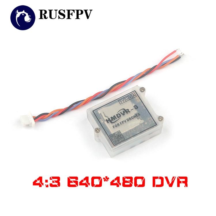HMDVR-S DVR 4:3 640*480 NTSC Video Audio Mini FPV Recorder for Micro RC FPV Racing Drone Quadcopter Airplane
