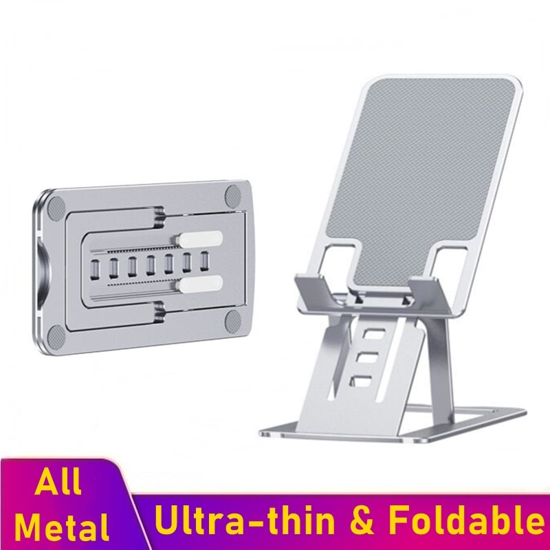 Tongdaytech-Soporte Universal de Metal Para teléfono móvil, Soporte plegable de escritorio Para...