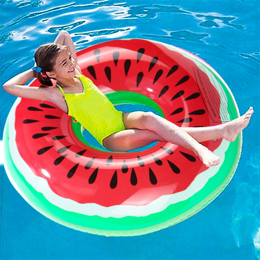 190cm giant floating island inflable swan ride on pool float beach mattress inflatable floating pool raft for swim pump for free Watermelon Inflatable Pool Float Circle Swimming Ring for Kids Adults Giant Swimming Float Air Mattress Beach Party Pool Toys