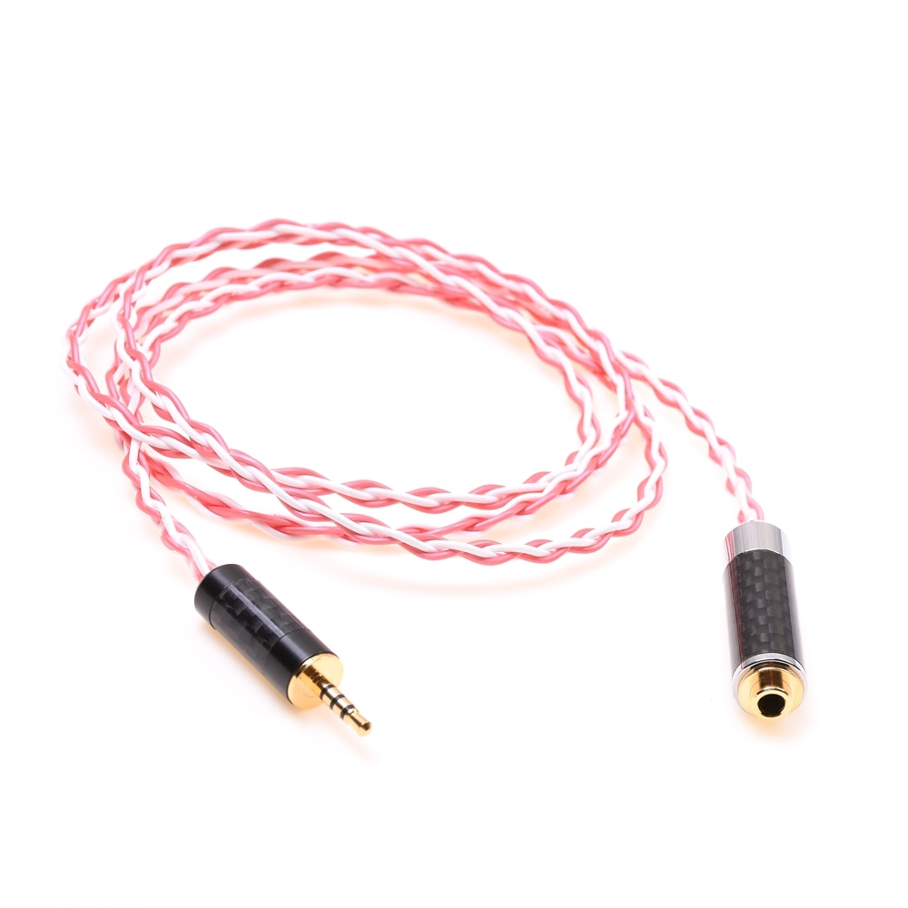 2.5mm Male to 3.5mm Female Trrs Balanced Audio Adapter Silver Plated Cable Compatible for Astell&Kern AK240 AK380  FIIO enlarge