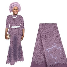 2019 Latest Nigerian French Lace Fabric African Tulle Lace Fabric With Beads High Quality French Net