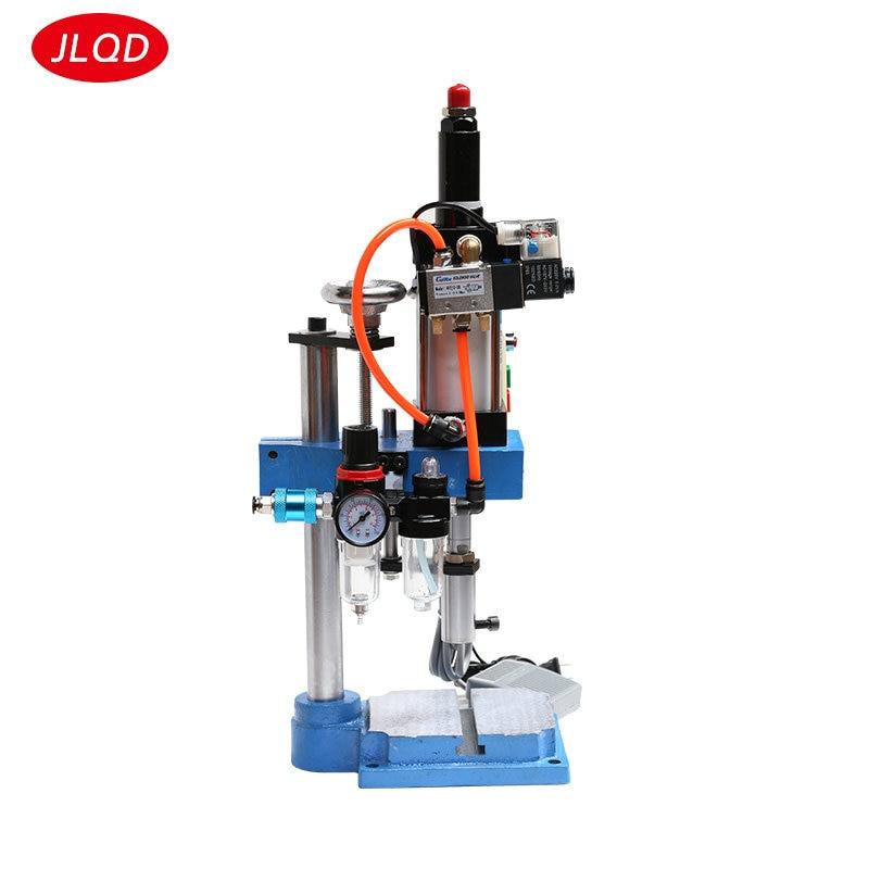 Tipo de columna única JNA50 ajustable 0-200 kg componentes neumáticos en miniatura punzón de prensa pequeño banco maquinaria de perforación neumática
