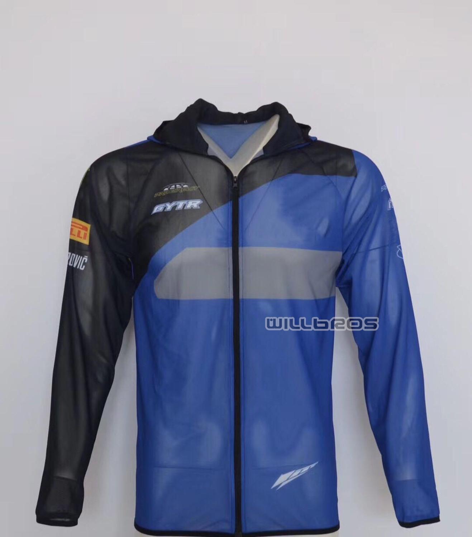 Sol protección suéter rápido seco Sudadera con capucha para Yamaha moto motocicleta sudadera de Sudadera con capucha
