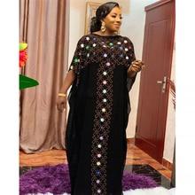 MD taille libre Caftan en vrac Abayas noir Abaya dubaï turquie musulman Hijab robe Djellaba femme marocaine Boubou arabe robes de soirée