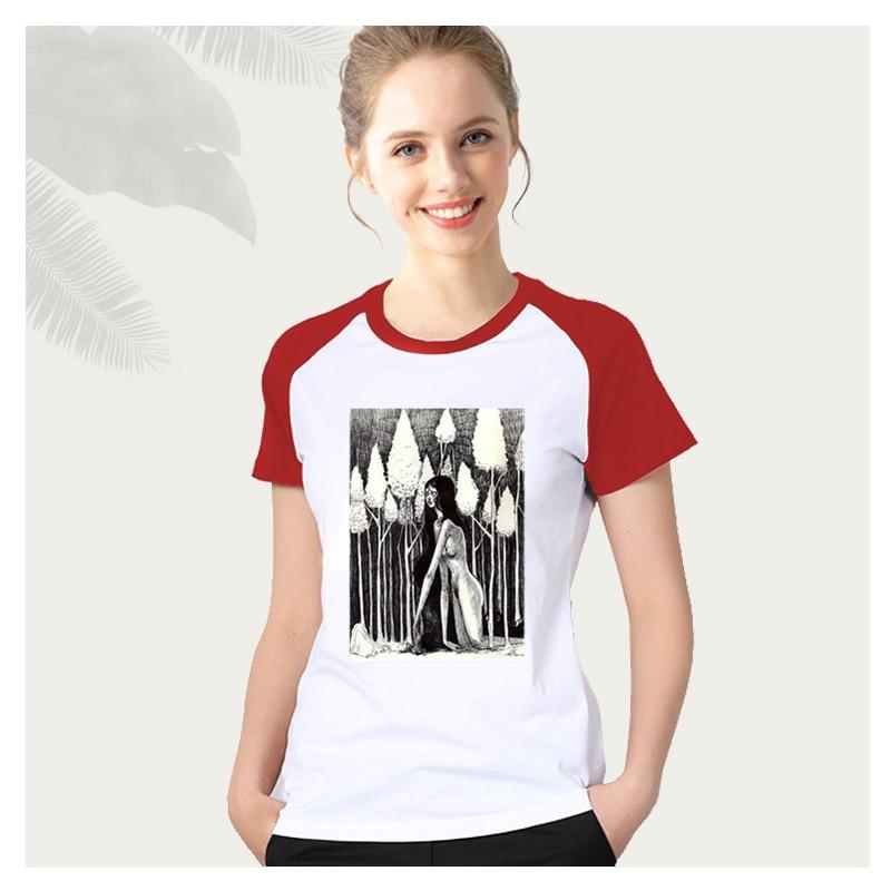 2020 mujeres Rem Kikuchi T camisas japonés loli lindo Sexy Vaportrash camiseta aheago chica Sexy senpai streetwear mujer Camisetas ropa