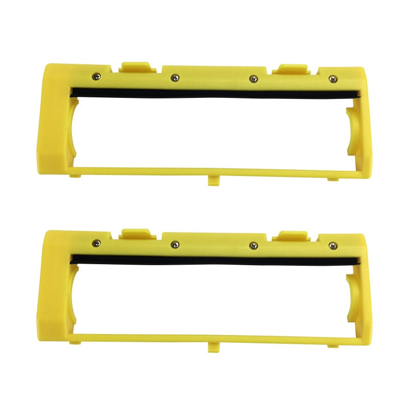 2Pcs Main Roll Middle Brush Cover for ILIFE A4 A4S Vacuum Robot Cleaner Parts Accessories