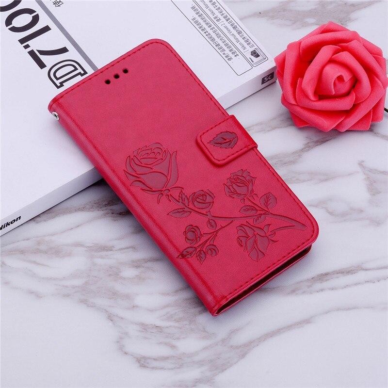 Para Samsung Galaxy S4 Mini I9190 i9195 i9192 GT-i9195 GT-i9190 GT-i9192 3D flor diseño billetera de cuero Flip funda de teléfono
