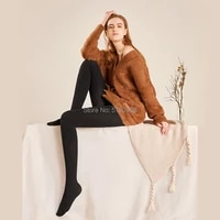 autunm female super long warmer tights for tall women lengthened stockings lady plus pantyhose extended striped non slip tights