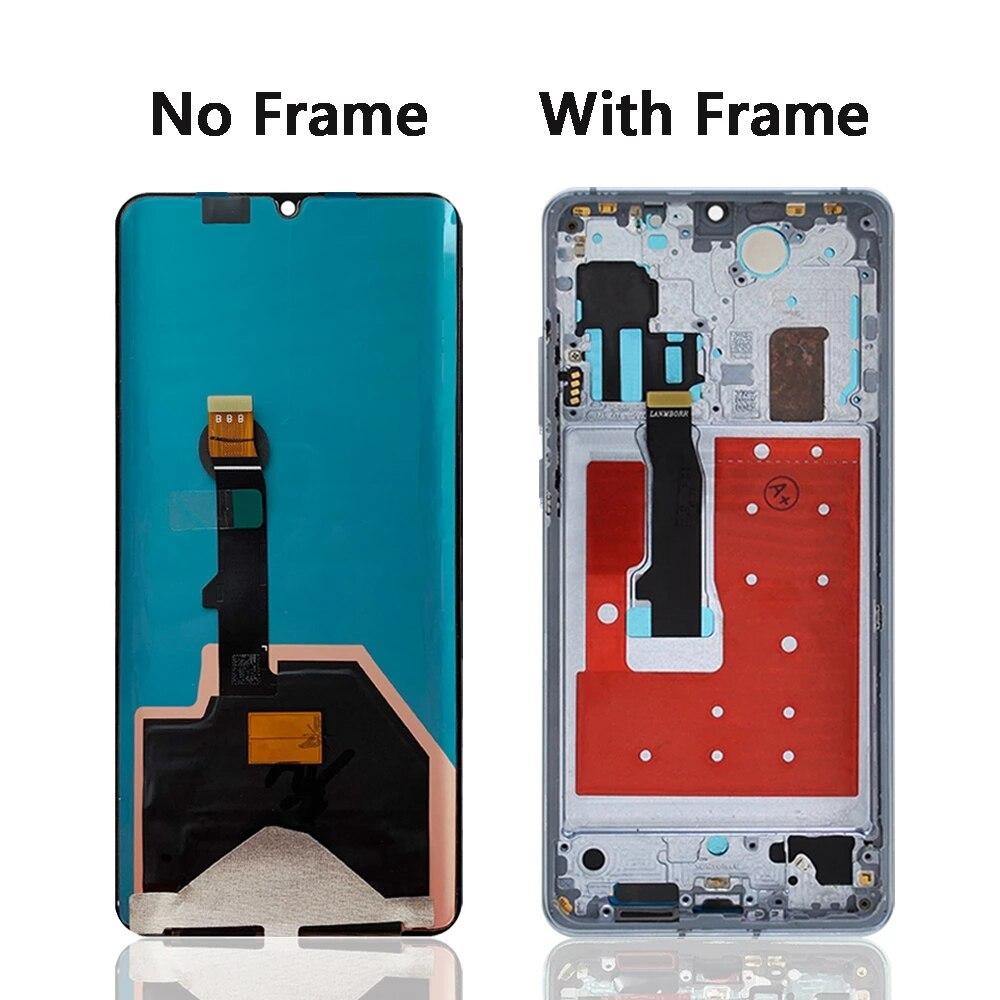 Original Display For Huawei P30 Pro Display Touch Screen For Huawei P30 Pro LCD Display Digitizer Replacement Parts VOG-L29 ,L09 enlarge