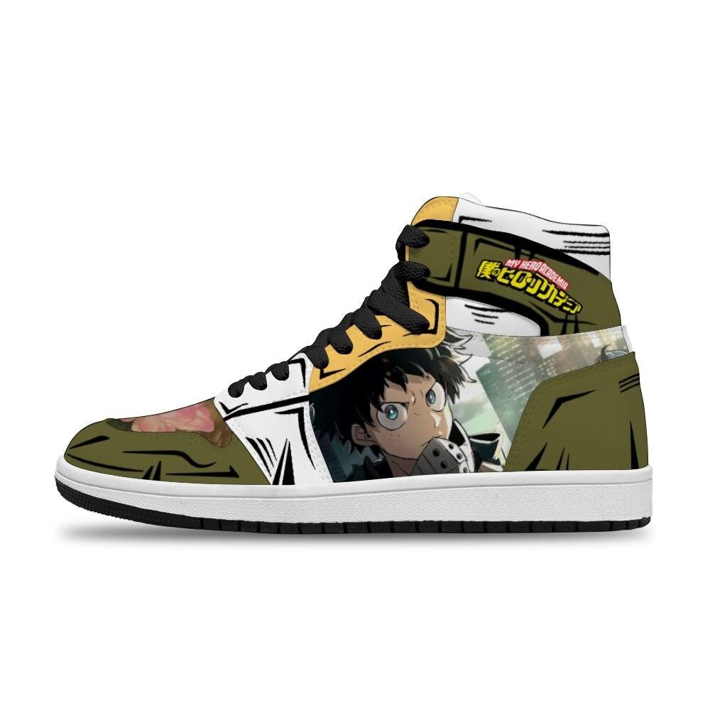 بلدي بطل الأكاديمية Diy بها بنفسك تشغيل عدم الانزلاق الساخن رسوم متحركة أنيمي يابانية حذاء كاجوال للرجال للجنسين الاتجاه أحذية رياضية