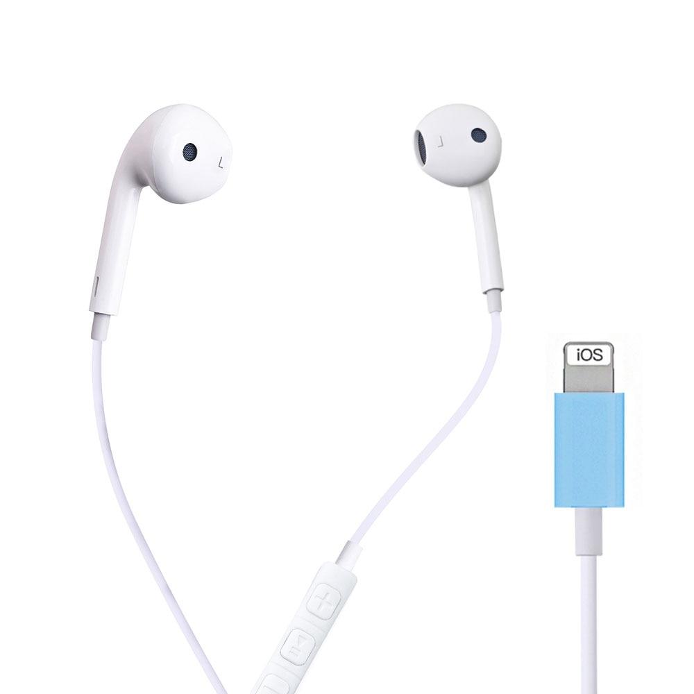 Auriculares con cables, Bluetooth y micrófono, auriculares internos sin cables para Apple IPhone 10 11 Pro X XR XS Max 7 Plus