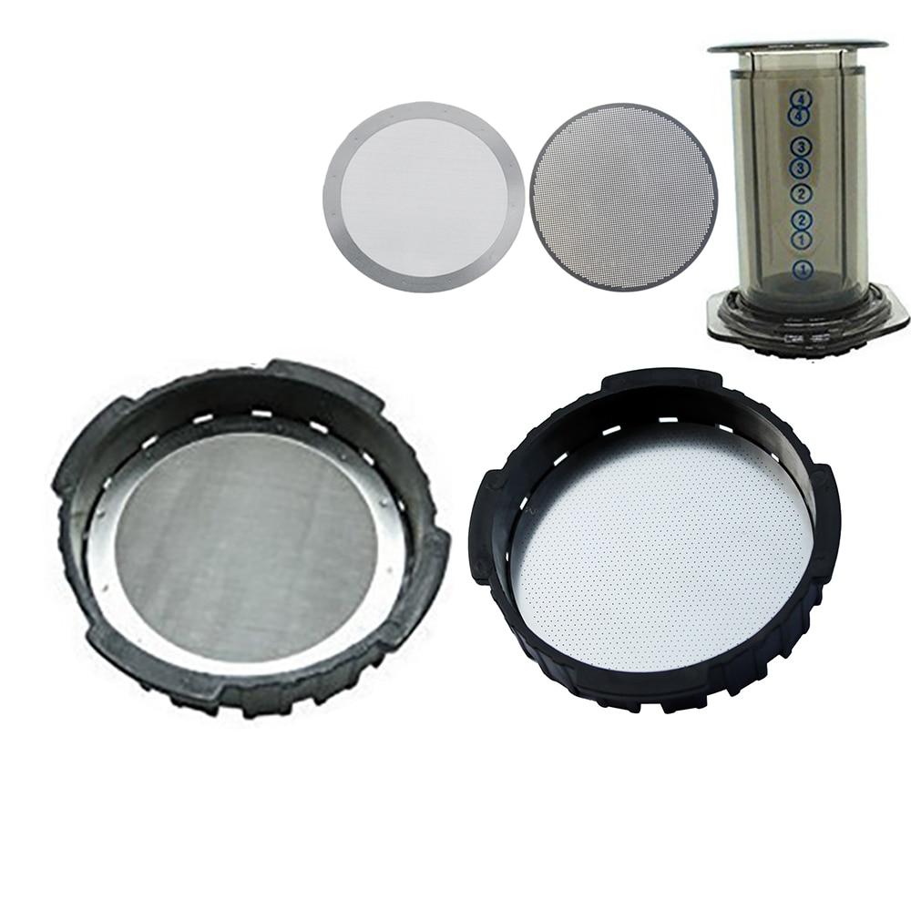 Фильтр сетчатый многоразовый из нержавеющей стали для кофеварки, 2 шт./лот, 61 мм