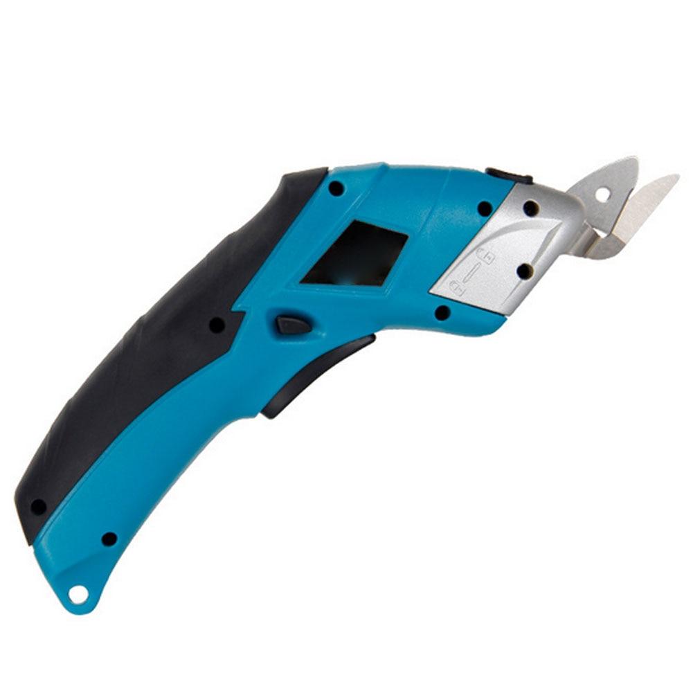 4 فولت الكهربائية مقص لاسلكي USB تهمة اللاسلكية الطاقة الكهربائية أداة لتنجيد الجلود خلفية السجاد النسيج العالمي