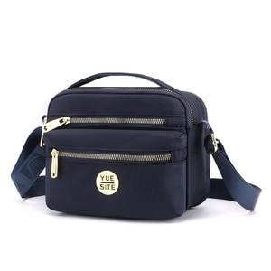 Panelled shoulder bags for women free shipping small woman hand bag nylon fashion ladies bag high quality bolsa feminina