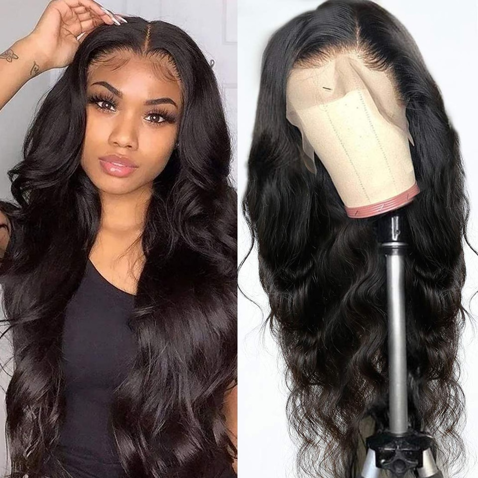 Lace front wig Lace front wig Body Wave 13x4 Lace Frontal Wig 4x4 Human Hair Lace front wig For Black Women Prepluck Glueless